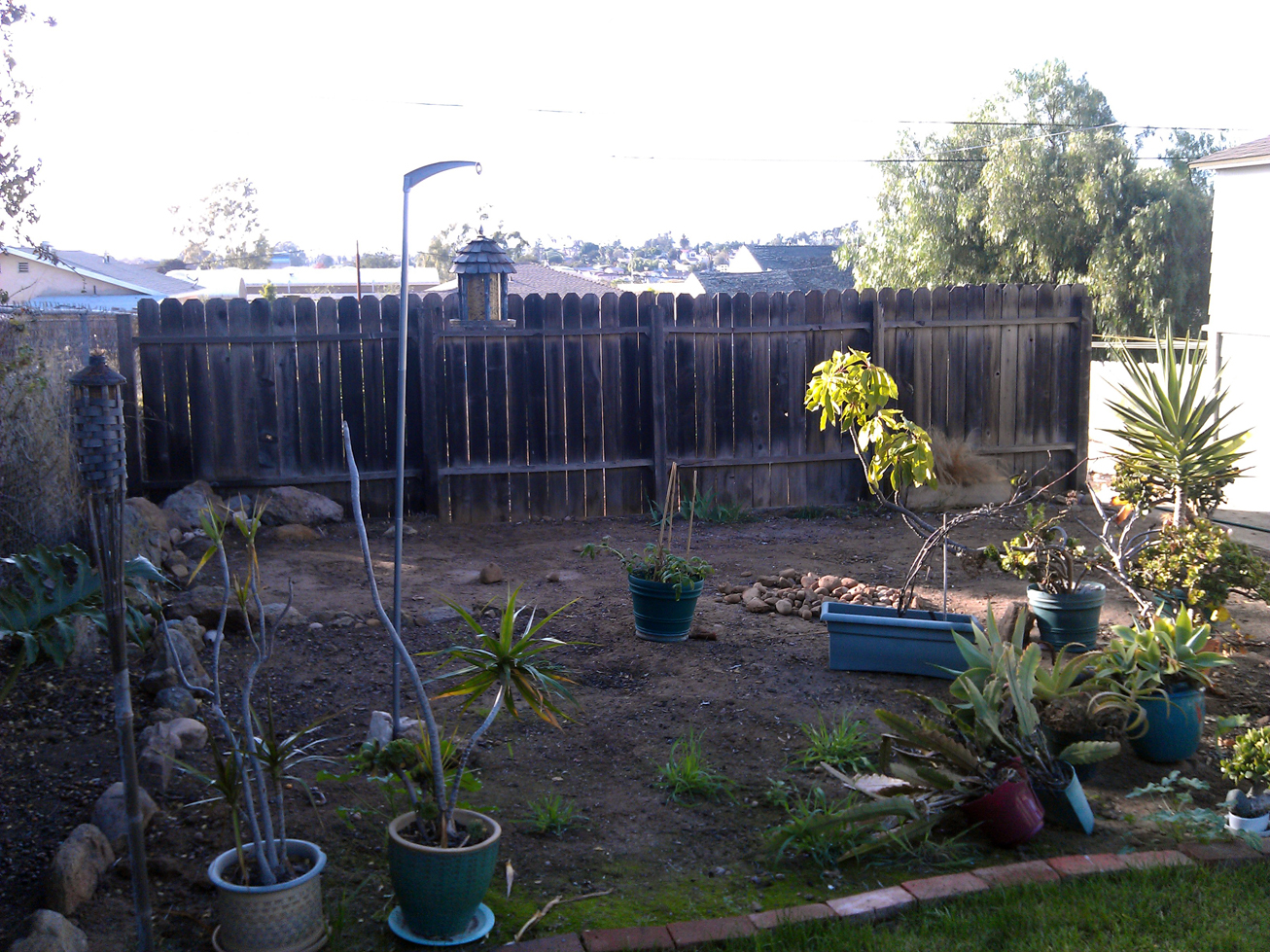 repurposing an old privacy fence mind your dirt
