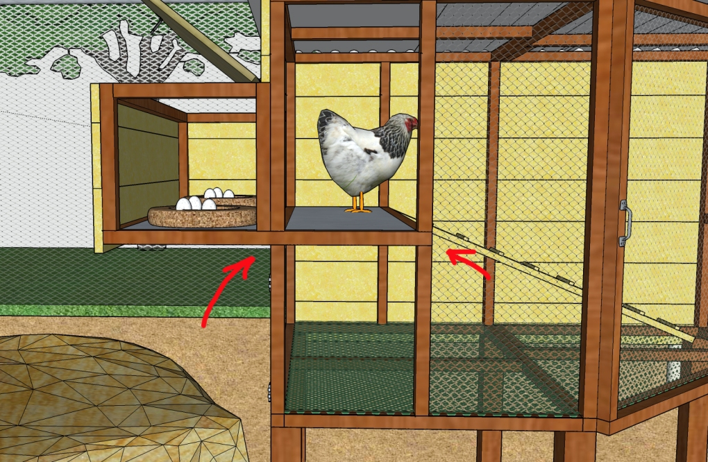 nesting box detail