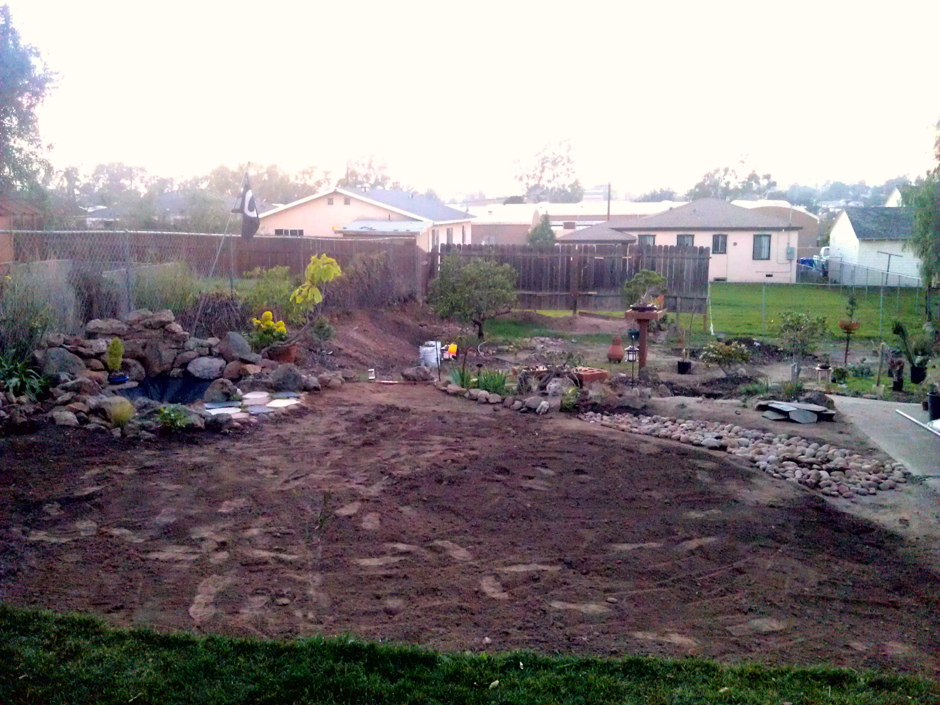 Building a Flagstone Patio