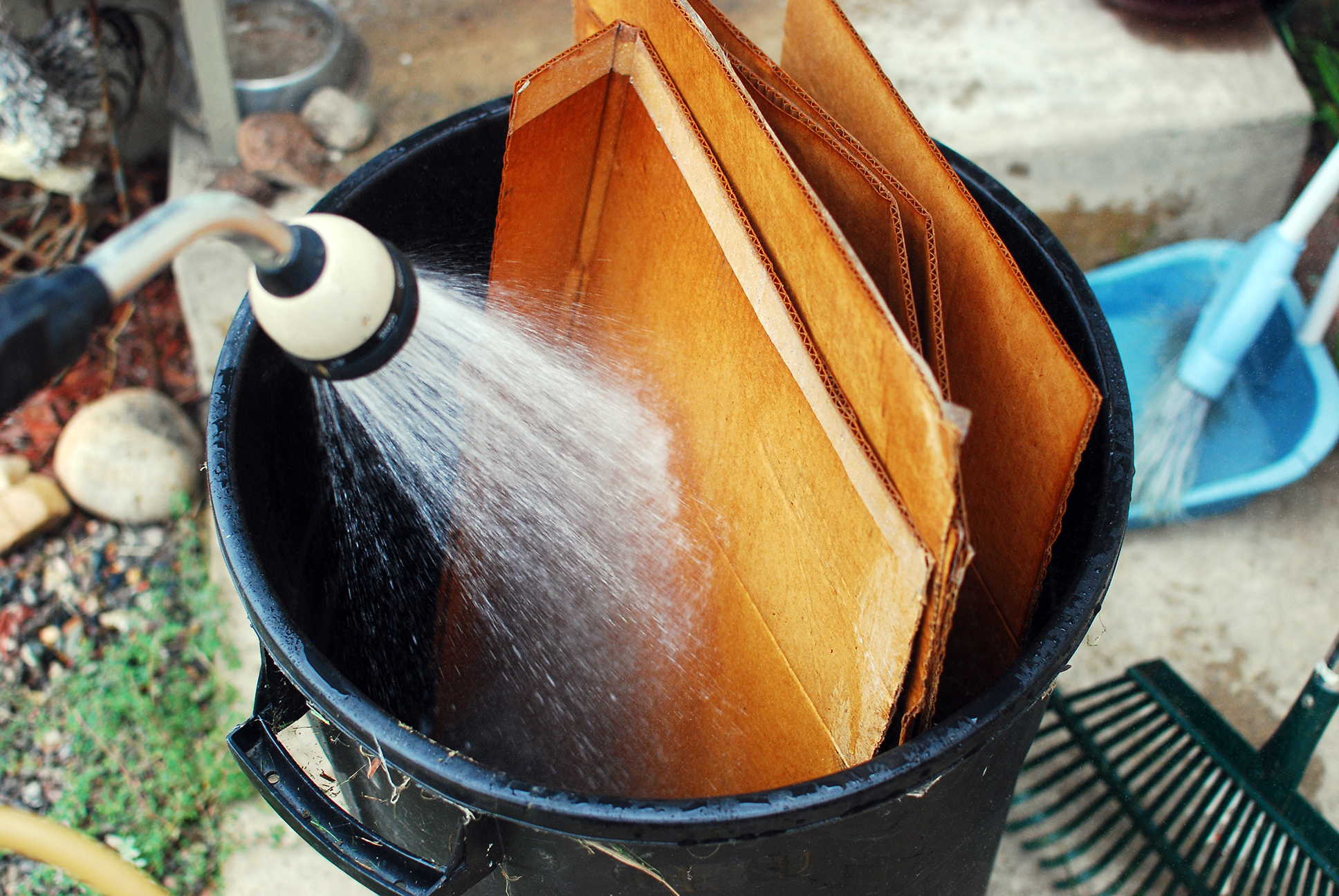 Image result for wet cardboard
