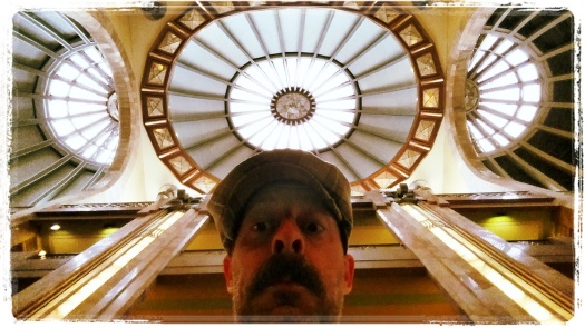 Mexico City Courier Trip 21_Palace of Fine Arts Selfie