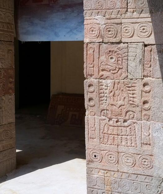 Mexico City Courier Trip 54Mexico City Courier Trip 51_Temple of Quetzalcoatl detail 2
